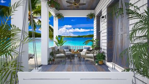 Design 451 Seaside Cottage Porch - by Daisy320