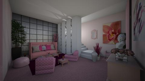 In the Pink - Modern - Living room  - by Irishrose58