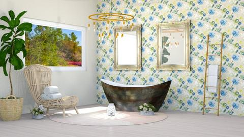 Spring Bath - Modern - Bathroom  - by millerfam