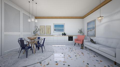 By the seaside - Modern - Kitchen  - by evabarrett