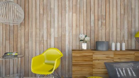 Yellow Wood Living Corner - Eclectic - Living room  - by Maria Esteves de Oliveira