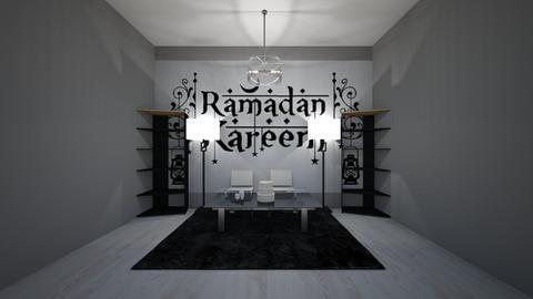 Ramadan Mubaruk - Living room  - by Hamzah luvs cats