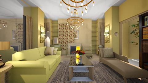 yellow something - Living room - by ilikalle