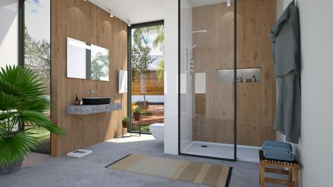 bathroom - Modern - Bathroom  - by Valkhan
