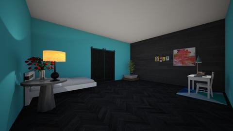 Teen Girl Room - Bedroom - by dunnm28