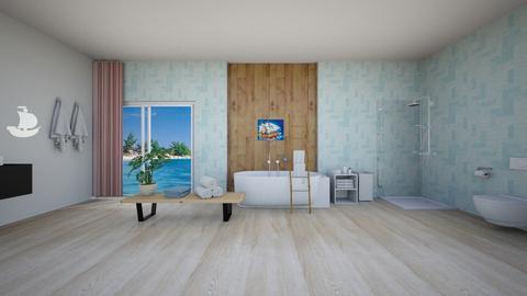 Cruise ship bathroom - Bathroom  - by NGU0008