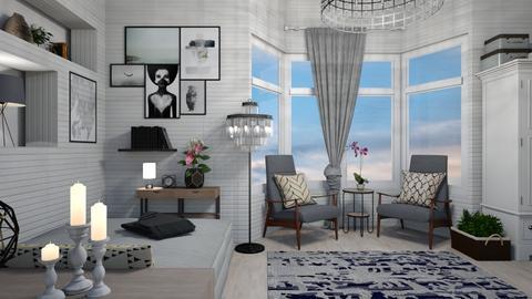 modern bedroom - Modern - Bedroom - by mari mar