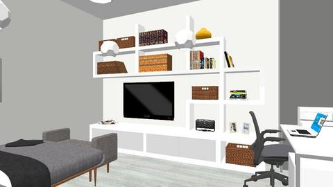 cuarto - Modern - Bedroom - by alfonso888