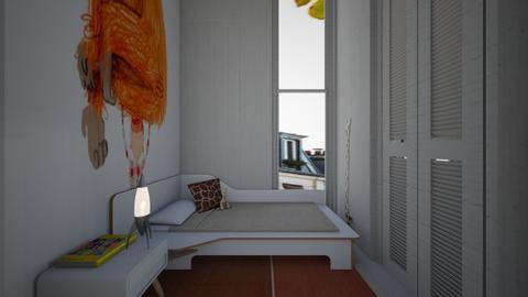 Casa169kidsBedroom - Minimal - Kids room  - by nickynunes