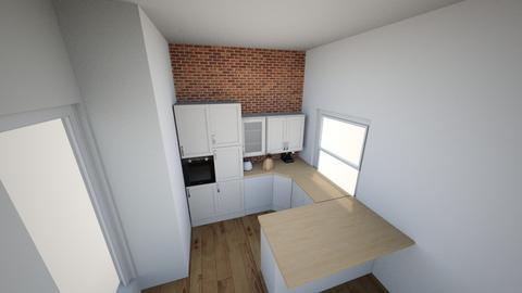 czysty pokoj 1 - Classic - Kitchen  - by krzysPolska