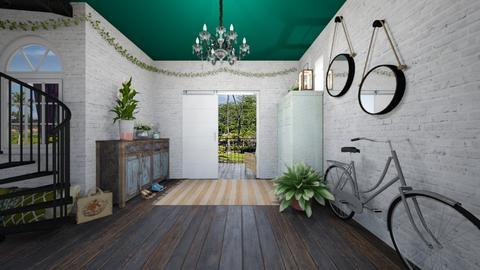 jungle hallway - by gretchen2005