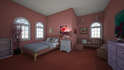 pink - Bedroom  - by ashleycdean