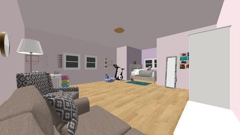 Sofias Room - Bedroom - by CristinaMorariu