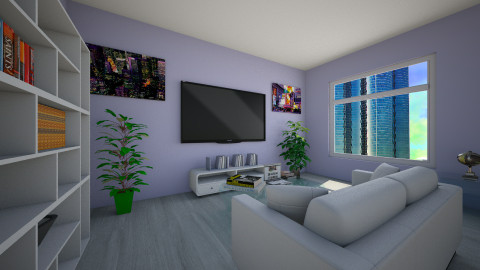 yuloly - Living room - by Mia Lis