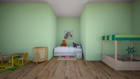 Kids safari - Kids room  - by NGU0008