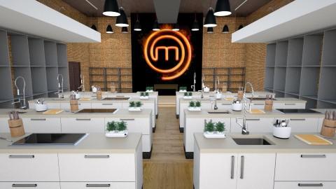 Masterchef - Kitchen  - by Mariana Gooliveira