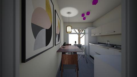 26June - Living room  - by Julia Nick