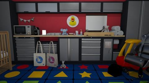 dad done it  - Kids room  - by Karen Priest