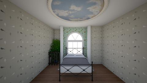 Art Noveau - Vintage - Bedroom  - by needanewroomiguess