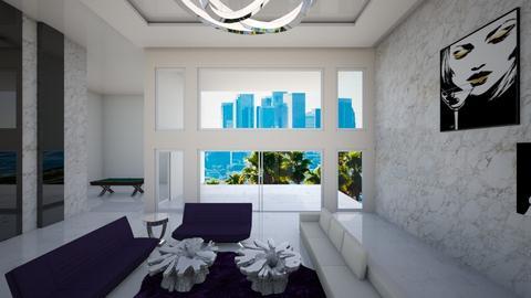 HIGH - Glamour - Living room  - by aleksdimzla
