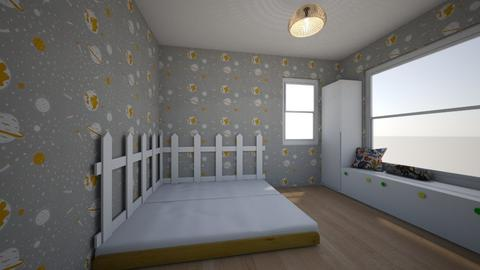 Dormitor baieti - Kids room  - by RoxanaBadulescu
