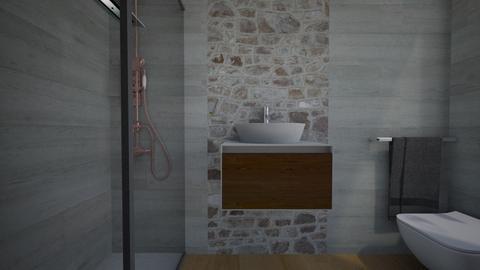 Cologno bagno ospiti21 - Bathroom - by natanibelung