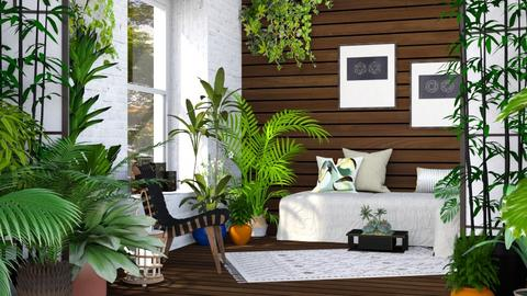 Urban Jungle - Rustic - Living room  - by millerfam