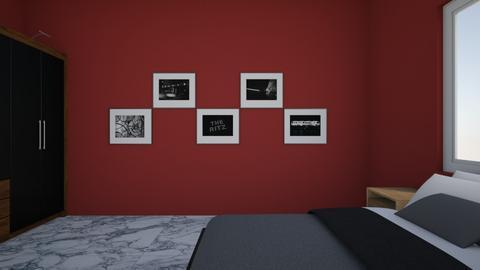 cuarto agaim1 - Bedroom  - by PaolaRoque