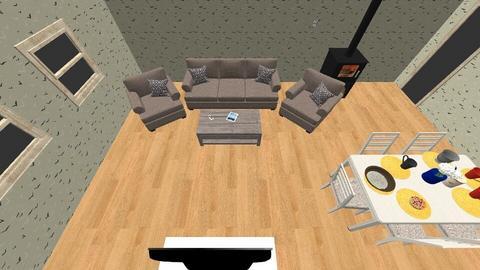 salon pro - Living room - by Viki20
