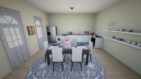 BIRTH DAY KITCHEN - Kitchen - by RALU 1234