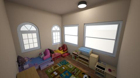 Toddler Room - Kids room  - by TheDino