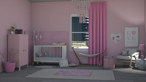 baby_grl_room - Kids room  - by RaeCam