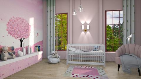 M_Surprise Baby Nursery - Kids room  - by milyca8