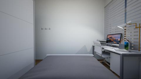 Brent_rm1 - Modern - Bedroom  - by Brent Ng