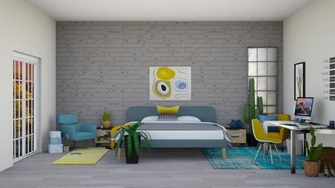 8339576569 Remix - Modern - Bedroom  - by Isaacarchitect