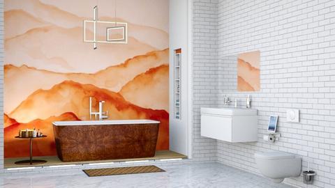 O and W Bathroom - Bathroom  - by lyrikkah