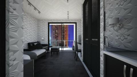 Hotel Room - by Saribina