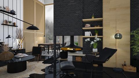 Extraordinary weekend esc - Living room  - by zarky