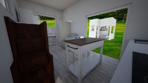 Tiny house pool house 5 - Kitchen  - by joannaowen