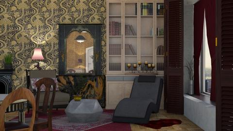 Old and new - Masculine - Living room - by Tree Nut