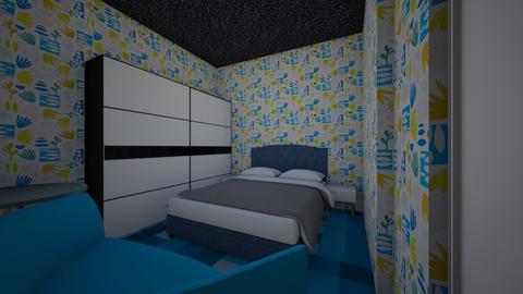 PSV MIDTERM EXAM - Modern - Bedroom  - by siow zhang khai