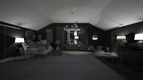 teen bedroom - Bedroom  - by leonardi123