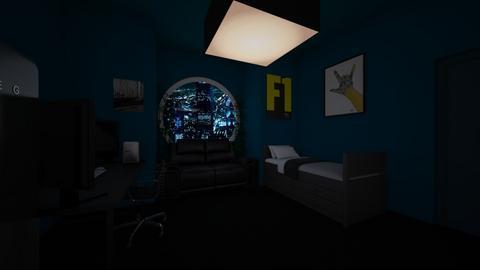 hacker room - by lokneszikolbasz