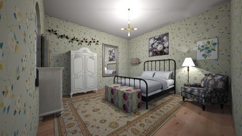 Alanna - Bedroom - by kittytarg