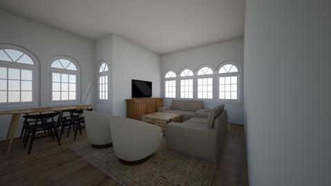 305 Living Room L shape - Living room  - by allielevanway