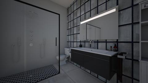 nannys bathroom - Bathroom  - by Southard