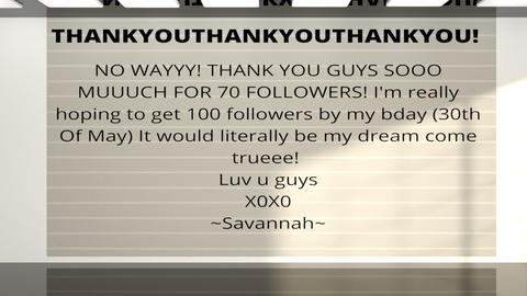 Message_Help_Savannah - by mydreamjob25