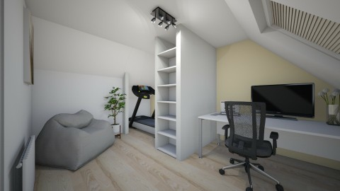Attic 10 - Modern - Office  - by wouterspaans