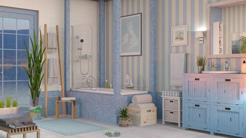 Nautical Bathroom - Bathroom  - by Sally Simpson