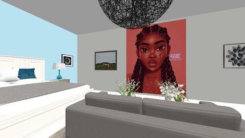 Me and shari room - Modern - Bedroom  - by Chayjerad